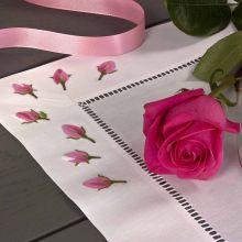 Tischwäsche Rosen