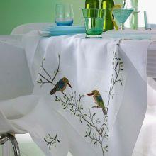 Tischwäsche Vögel