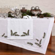 Tischwäsche Weihnachtszweig