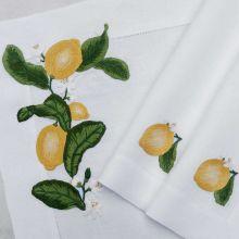 Tischwäsche Zitrone