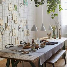 Tischwäsche Slow Life in fünf Farben