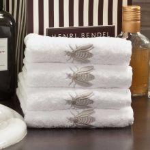 Handtuch Api, elegante Bienchenstickerei