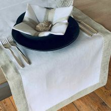 Tischwäsche Rustica in zwei Farben