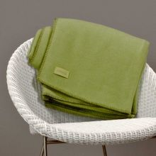 Soft-Fleece Decke - 650 olive