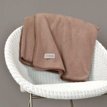Soft-Fleece Decke - 840 taupe
